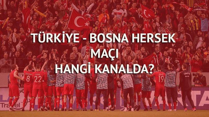 Türkiye - Bosna Hersek maçı ne zaman, saat kaçta, hangi kanalda? (Türkiye - Bosna Hersek maçı canlı izle)