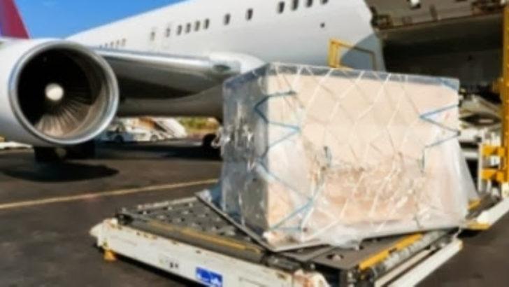 Adana Havalimanı'ndaki Suudi kargo uçağında 14 milyon TL'lik uyuşturucu ele geçirildi