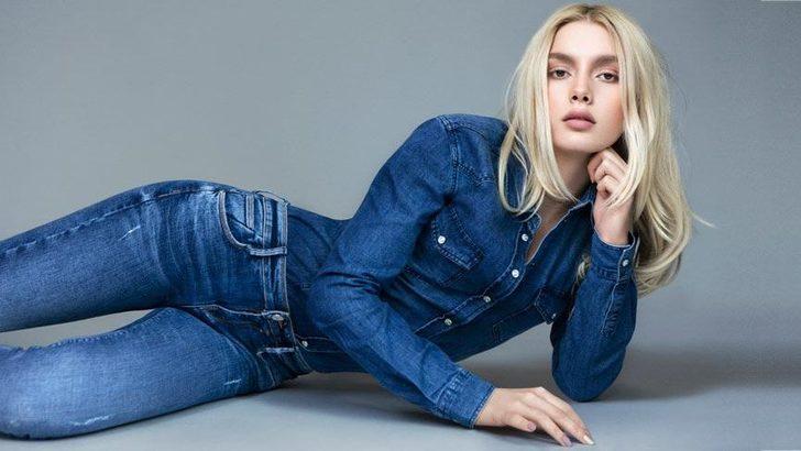 Aleyna Tilki ünlü bir jean markasının yüzü oldu