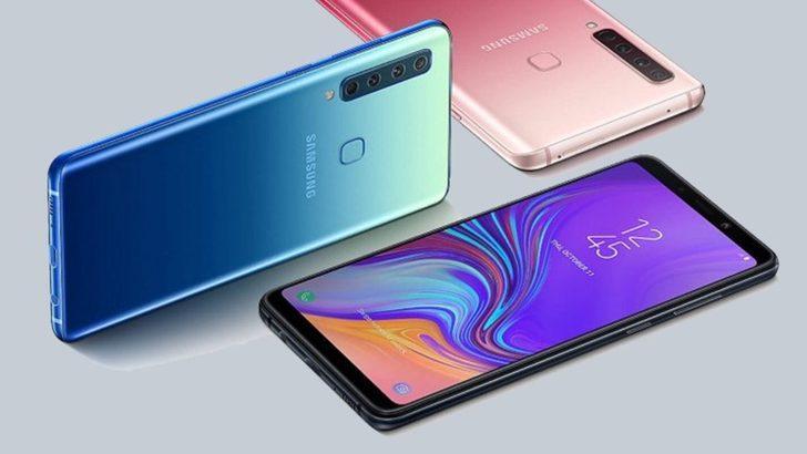 Samsung Galaxy A9 (2018) 4 kameraya sahip!