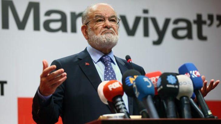 SP lideri Karamollaoğlu'ndan Cumhurbaşkanı Erdoğan'a 'İnönü' tepkisi