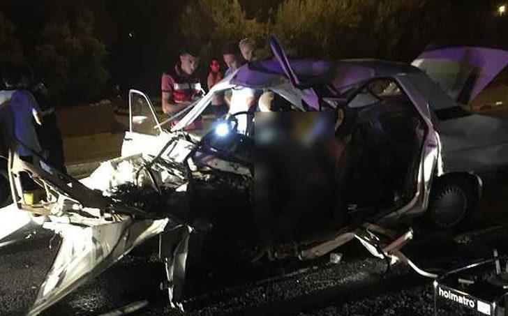 Mersin'de kaza: 2 kişi ile annesinin karnındaki bebek öldü