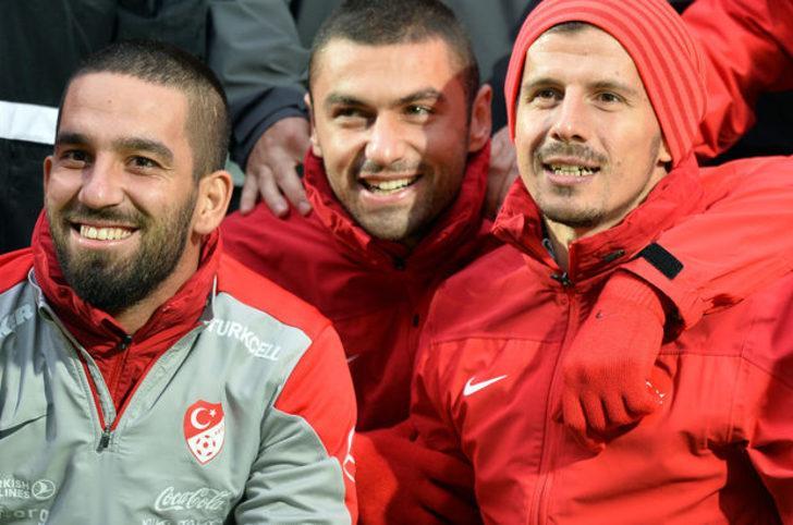 Burak Yılmaz ve Emre Belözoğlu'ndan Arda Turan açıklaması!