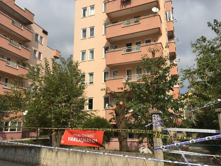 Bursa'da yıkılma tehlikesine karşı tahliye edilen apartman mühürlendi