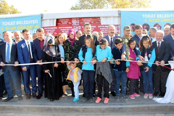 Tokat'ta 1 milyon kitap, fuarda okuyucu ile buluşuyor