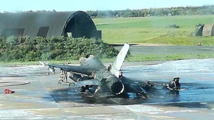 Dev patlama! Hava üssünde F-16'ları yanlışlıkla vurdular