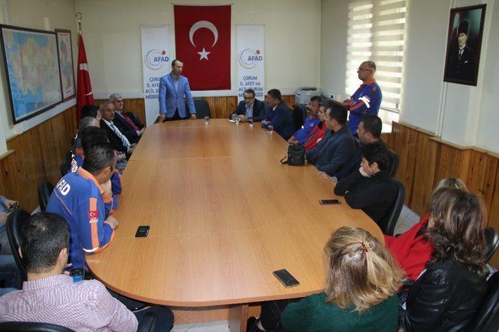 AFAD Sen Genel Başkanı Ayhan Çelik;