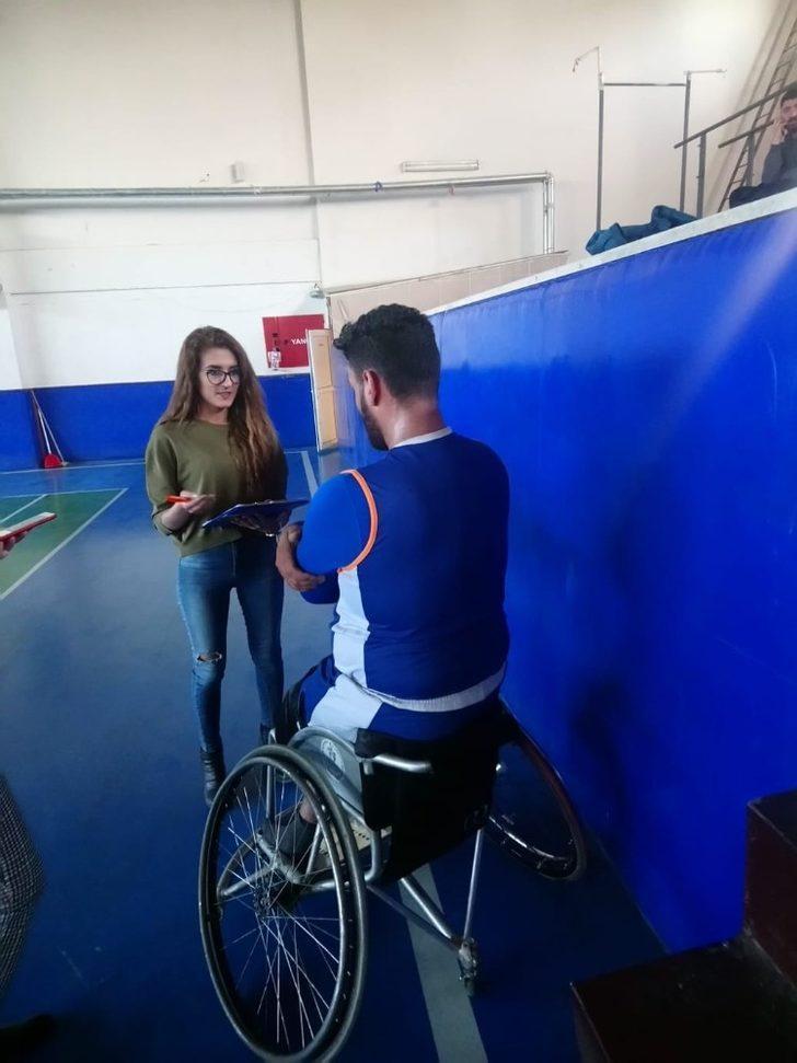 Van'da genç engellilerin sorunları kayıt altına alıyor