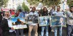 Kayseri'de, Gazze'deki ambargolara tepki