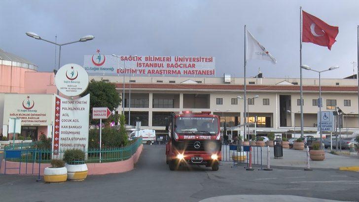 ek fotoğraflar//Bağcılar Eğitim ve Araştırma Hastanesi'nde yangın (2)
