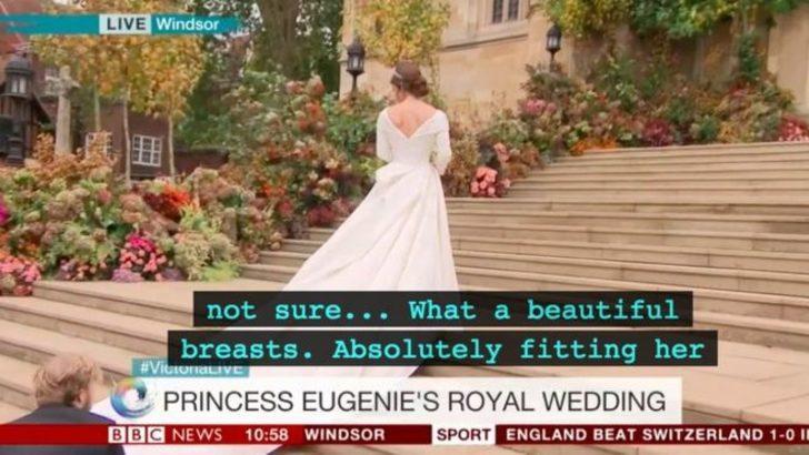 Kraliyet düğünü canlı yayınında talihsiz kaza!