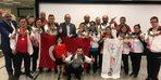Başkan Gül'de şampiyon sporcuya ödül