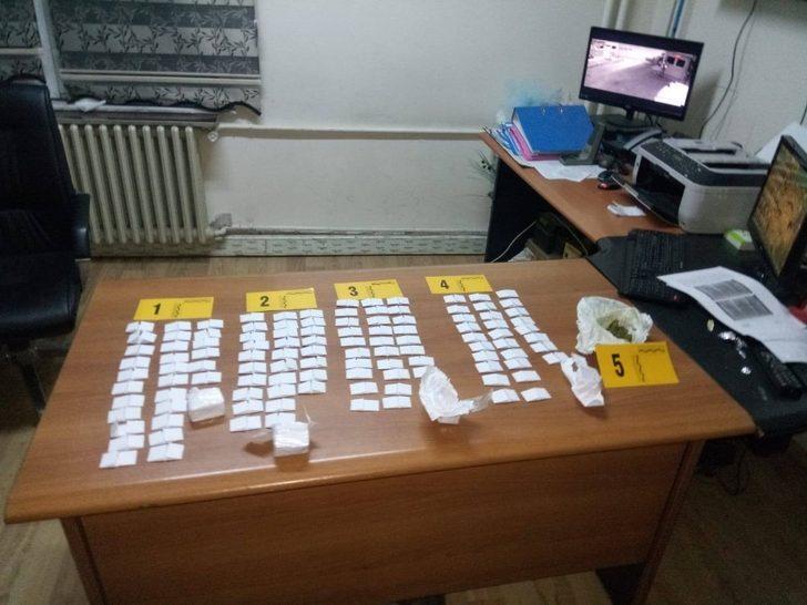 Oltu'da uyuşturucu ticareti yapan 1 kişi tutuklandı
