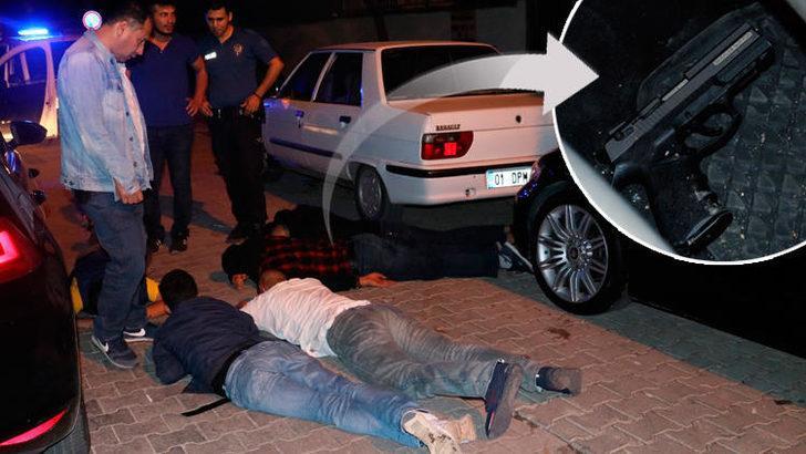 Adanada Ilginç Olay Tabanca Senin Diye Birbirlerini Suçladılar
