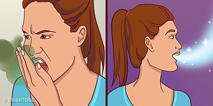 Sadece 5 dakikada kötü nefes kokusunu yok eden 5 yöntem