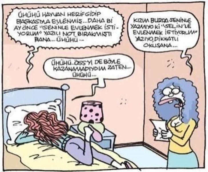 """Evlenenlerin """"Ayyy Aynı Bizim Gibi"""" Diyeceği 22 Komik Karikatür"""