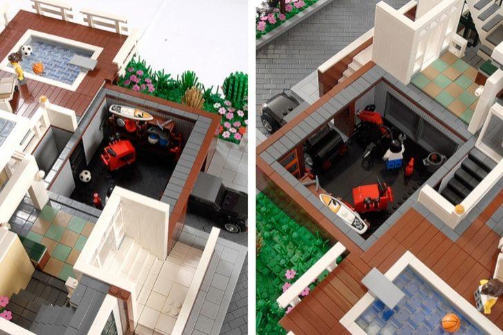 Lego Tarzında Yapılmış Bu Evleri Görmeli Ve İçinde Yaşamayı Hayal Etmelisiniz!