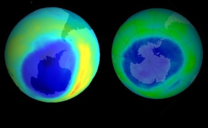 Kuzey Amerika'dan Daha Büyük Bir Ozon Deliği