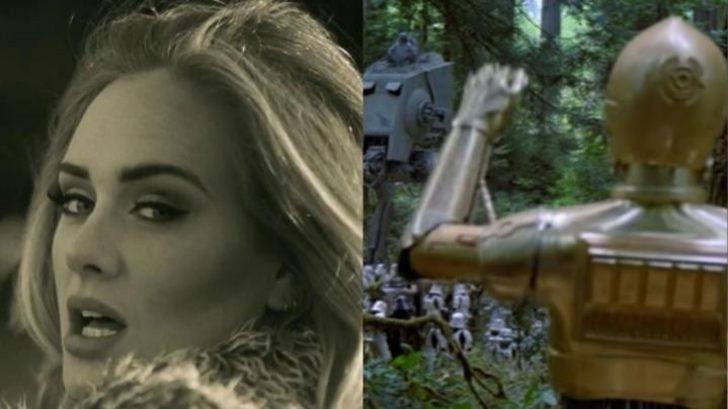 Adele Çılgınlığı Devam Ediyor: Yeni Şarkı Hello'nun Sinema Karakterleri Tarafından Söylenmiş Versiyonu Burada!