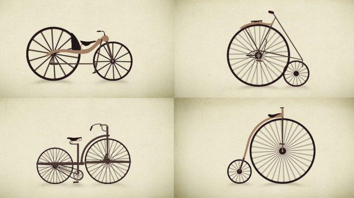 Beyin Yakan Bir Video İle, Yüzyıllar İçinde Bisikletin Evrimi