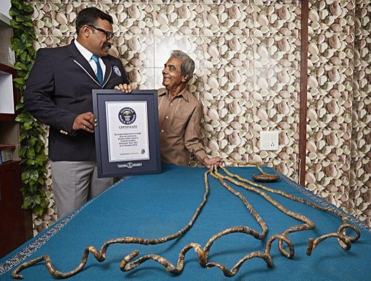 Guinness Rekorlar Kitabındaki en absürt rekorlar