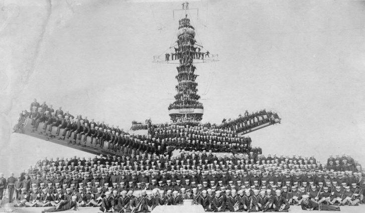 I. Dünya Savaşı'nda Donanmalardan Harika Görseller