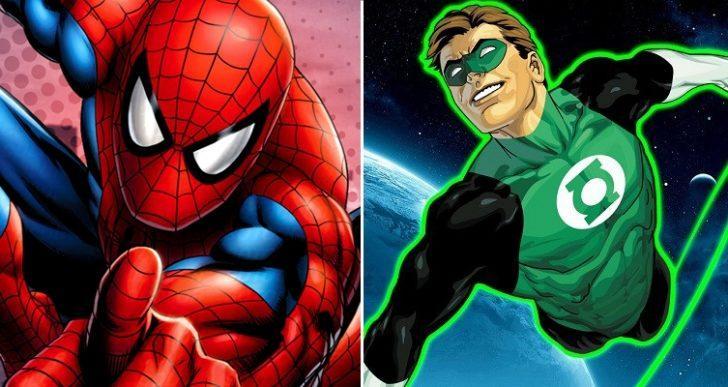 Marvel - DC Kapışmasında 5. Round: Mahallenizin Dostcanlısı Kahramanı Spider-Man ve Evrenin Polisliğini Yapan Green Lantern