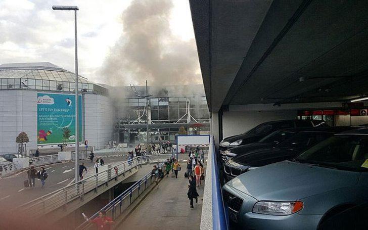 Brüksel'de Peş Peşe Bombalı Saldırılar