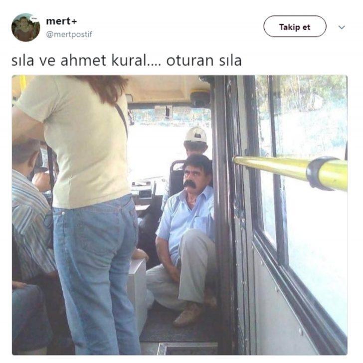 Sıla ve Ahmet Kural'ın Bakışmalarını Mizahlarıyla Süsleyen Twitter Alemi!!!