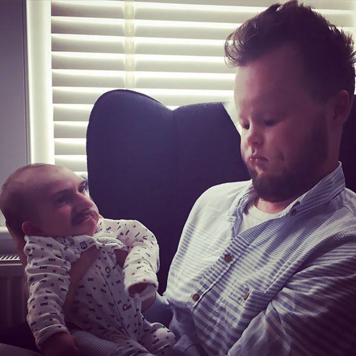Yüz değiştirme (Face Swap) Akımına Bebekler Katılırsa