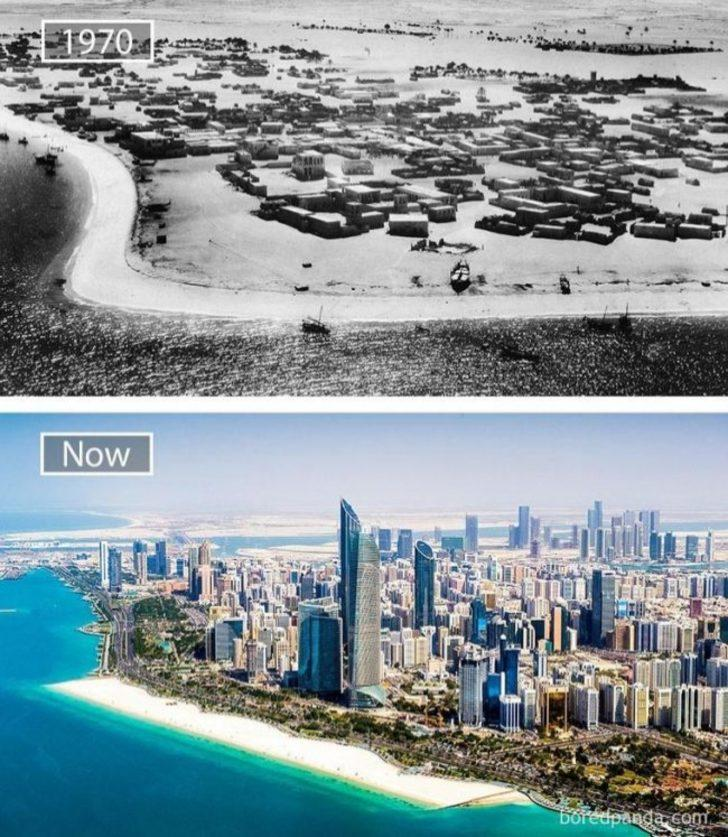 Fotoğraflarla büyük şehirlerin değişimleri. Öncesi ve sonrasıyla.