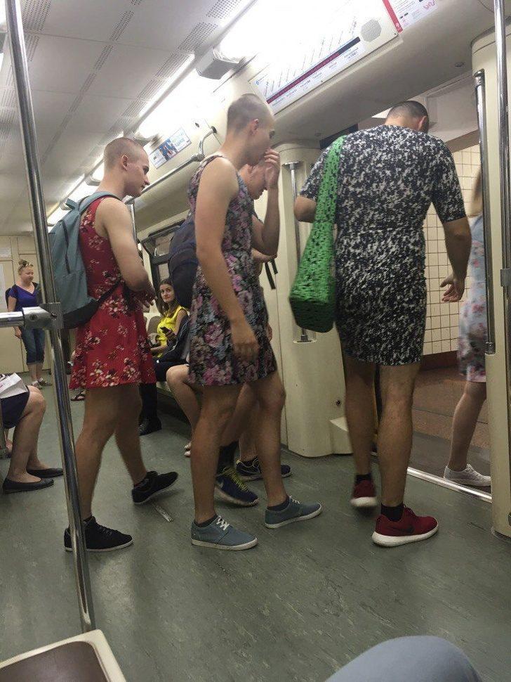 Metroda her gün karşılaşamayacağınız 17 absürt tip
