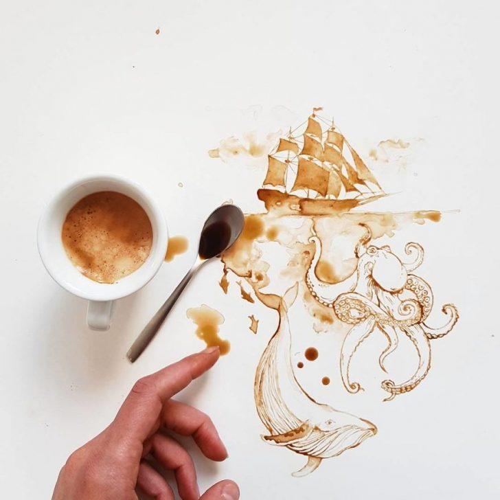 Bu resimleri gördükten sonra kahveniz elinizden kayıp düşecek!