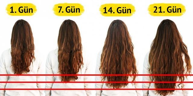 Saçlarınızı 21 günde uzatan mucize besinler