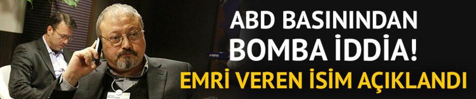 ABD basınından bomba iddia! Emri veren isim açıklandı