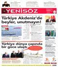 Yeni Söz Gazetesi  Gazetesi oku