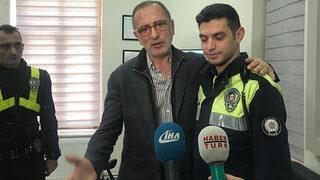 Fatih Altaylı polis merkezine gidip...