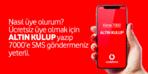 Vodafone Altın Kulübe Nasıl Üye Olurum?
