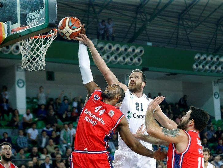Darüşşafaka Tekfen 77 - 72 Bahçeşehir Koleji (Tahincioğlu Basketbol Süper Ligi)