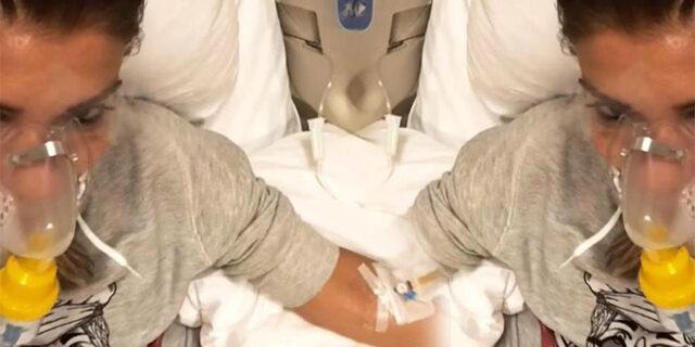 Gülben Ergen hastane odasından paylaştı