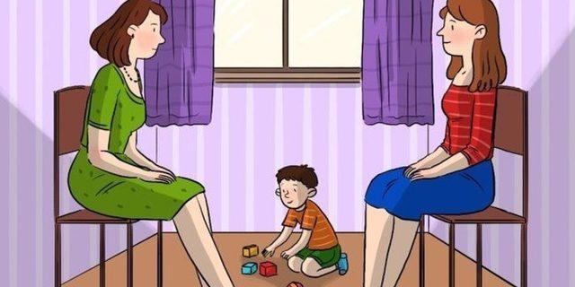 Bu resim interneti kasıp kavuruyor! Peki hangisi çocuğun annesi?