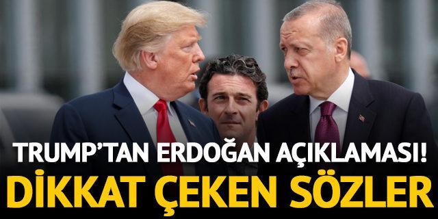 Trump'tan Erdoğan açıklaması: Oldukça sertti!