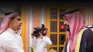 Kaşıkçı'nın oğlu ve Prens Selman yüz yüze!