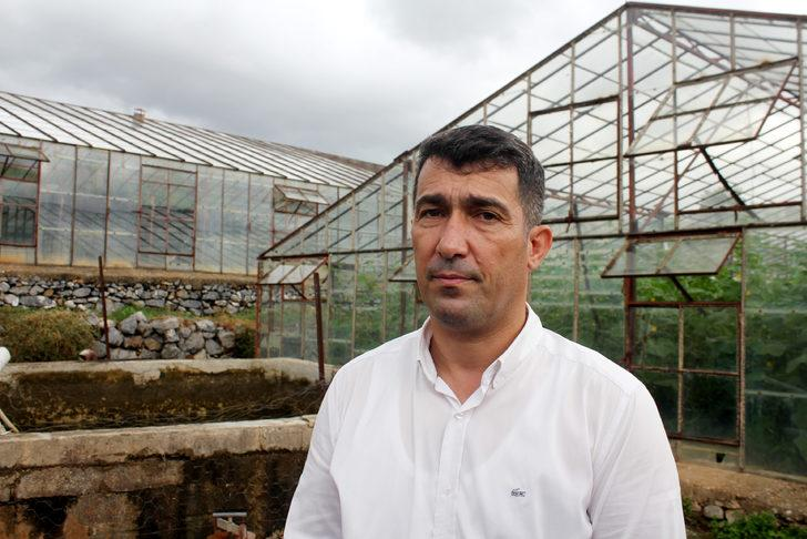 Gazipaşa'da sağanak ve dolu, tarım arazilerini vurdu