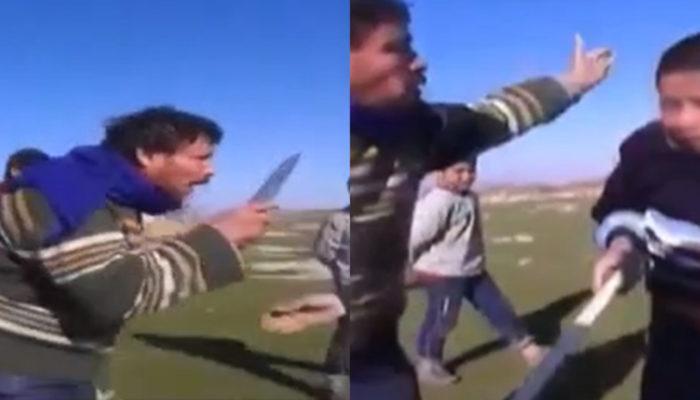 Suriyeli adam küçük çocuğa bıçakla saldırdı! ile ilgili görsel sonucu
