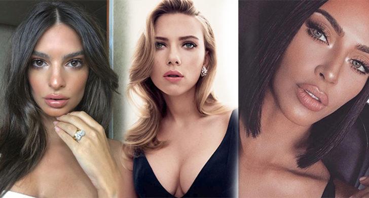 Kusursuz yüz hatlarına sahip 10 ünlü kadın