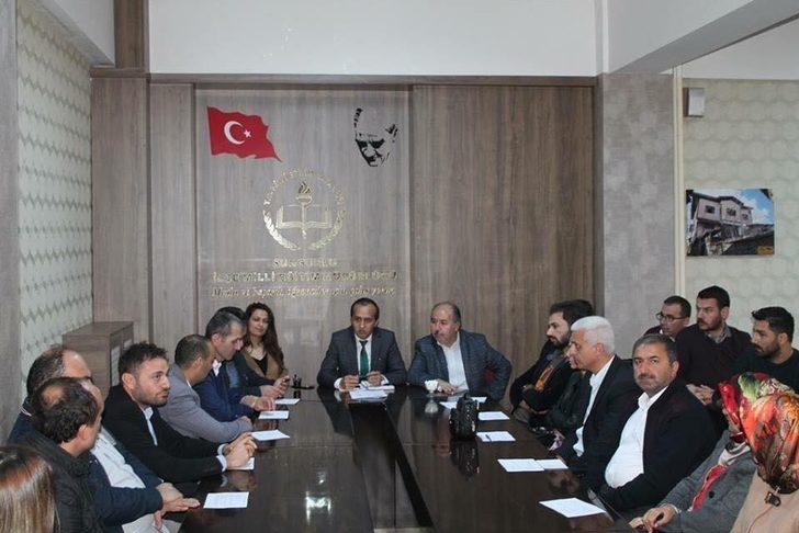 Sungurlu ilçe milli eğitim müdürü Mustafa Eryiğit;