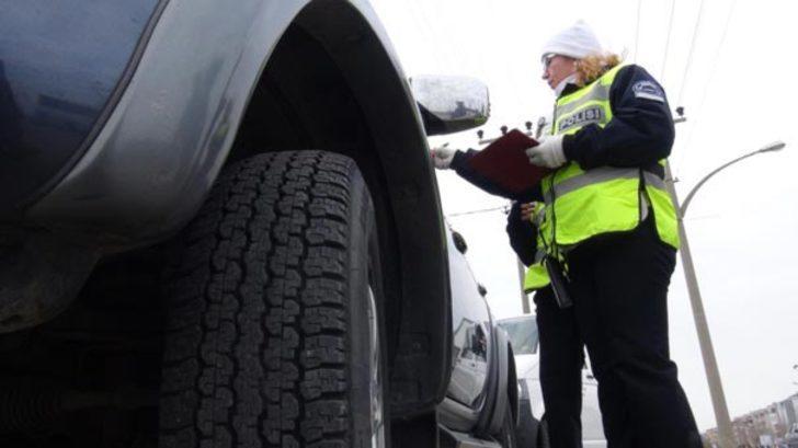 Araçlarına kış lastiği takmayanlara ceza yağdı