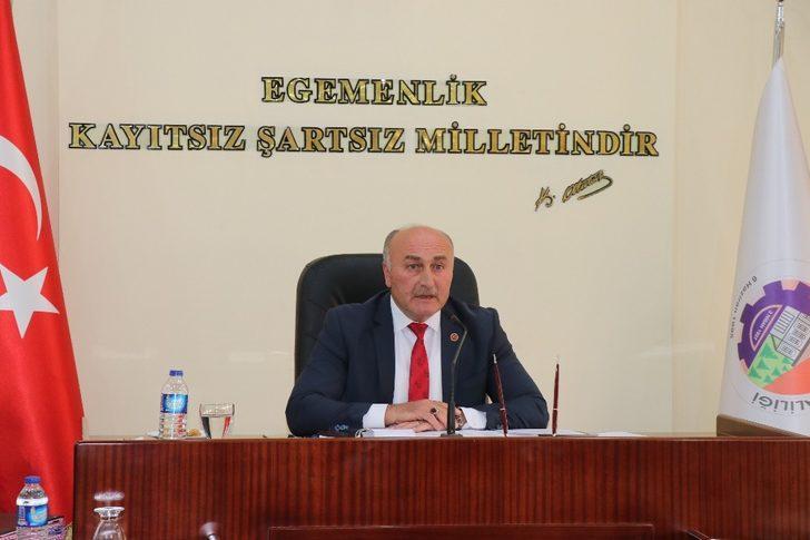 """Ahmet Sözen, """"2019 yılı bütçemiz 46 milyon TL"""""""