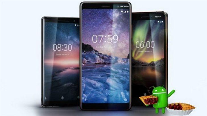 Nokia ailesi Android Pie güncellemesi alıyor!